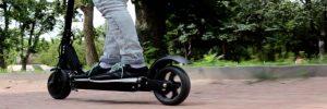 Hoe ver kan je rijden met een elektrische step?