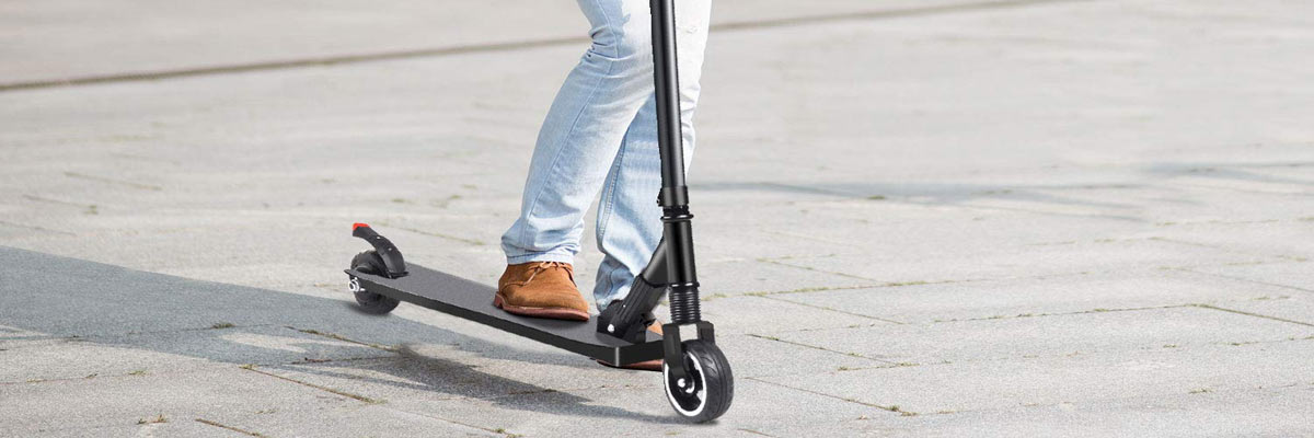 Rijbewijs verplicht voor het rijden op een elektrische step?